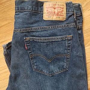 Levi's 569 jeans 36 x 32